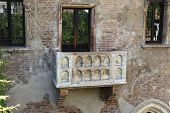 image of juliet  - Courtyard with a balcony where Romeo confessed his love to Juliet - JPG