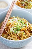 foto of stir fry  - Stir fry with rice noodles - JPG