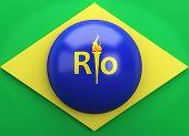 stock photo of carnival rio  - 3d renderer illustration - JPG
