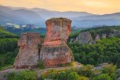pic of rocking  - The Belogradchik Rocks at sunset Bulgaria - JPG