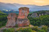 picture of rocking  - The Belogradchik Rocks at sunset Bulgaria - JPG