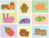 foto of aquatic animal  - Zoo animals icons  - JPG