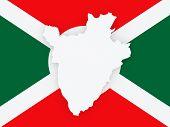 foto of burundi  - Map of Burundi - JPG