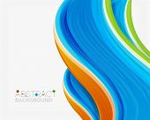 picture of solids  - Abstract realistic solid wave background - JPG
