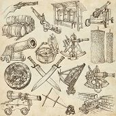 stock photo of freehand drawing  - OBJECTS  - JPG