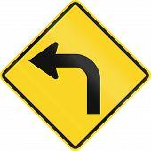 Постер, плакат: Curve Ahead In Canada