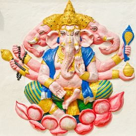 stock photo of avatar  - God of success 29 of 32 posture - JPG