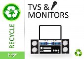 Recicle-tv e monitores