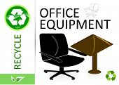 pic of reprocess  - Please recycle office equipment - JPG