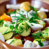 Постер, плакат: Свежие овощи для полезное блюдо