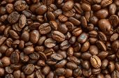 Постер, плакат: Браун жареного кофе в зернах