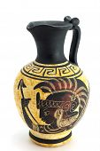 Ancient Jug With Ornament poster