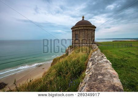 Mussenden Temple Located On High