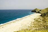 picture of nudism  - One of the virgin beaches in Cabo de Gata National Park - JPG