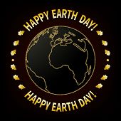 National Day Of Protection Of The Earth, Environment. Day Of The Ecologist. The Symbolic Image Of Th poster