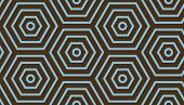 Abstract geometric background. Blue and brown colors. Geometric seamless pattern for wallpapers, tex poster