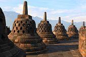 image of arjuna  - Architecture Borobudur Temple Stupa Row in Yogyakarta Java Indonesia - JPG