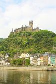 Castle At Cochem Germany
