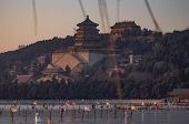 Traditional Chinese Architecture, Summer Palace In Beijing. poster