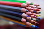 Colorful Crayons. Fun Colors. The Magic Of Colors. Limited To Imagination. poster