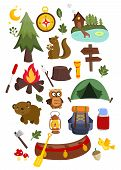 Camping Vector Set.eps