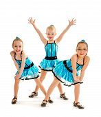 Novice Girls Tap Dance Trio