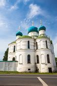picture of uglich  - Bogoyavlenskii Cathedral of Uglich city day light clear weather - JPG