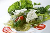 picture of tartar  - borage salad - JPG
