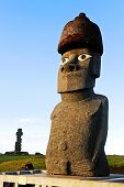 CHILE - FEBRUARY 7: Moai on Easter Island, Chile.