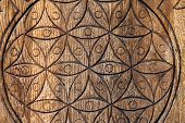 pic of tetrahedron  - Wooden Flower of Life - JPG
