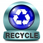 pic of reuse  - Recycle and reuse paper glass clothes plastics and other garbage safe the planet and buy ecological - JPG