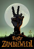 image of corpses  - halloween background - JPG