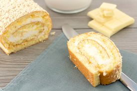 pic of pastarelle  - cookie dough stuffed with sweet cream and cover with fine white chocolate