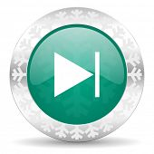 foto of christmas song  - next green icon - JPG