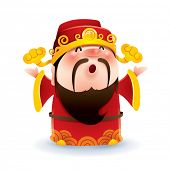 foto of prosperity  - Chinese God of Wealth - JPG