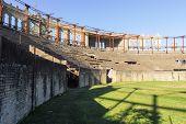 picture of derelict  - Plaza de toros Real de San Carlos in Colonia del Sacramento Uruguay - JPG