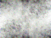 pic of color spot black white  - Halftone colored background - JPG