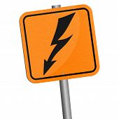stock photo of voltage  - Vector illustration - JPG