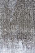 image of asbestos  - Old weathered gray asbestos plate texture background - JPG