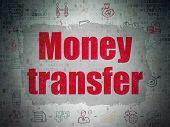 pic of transfer  - Finance concept - JPG
