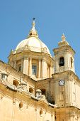 picture of gozo  - Catholic Church in Mgarr city - JPG