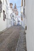 pic of templar  - Streets of Jerez de los Caballeros Spain - JPG