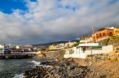 stock photo of canary-islands  - Sea Village at the Spanish Canary Islands - JPG