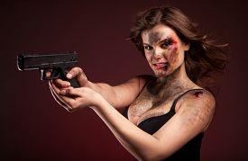 foto of girls guns  - Beautiful - JPG