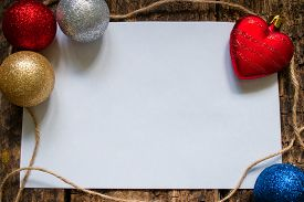 picture of letters to santa claus  - the layout for the letter to Santa Claus or a list of gifts with Christmas toys - JPG
