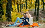 Play Together. Mother Father And Small Son Play In Park. Lovely Couple With Baby Boy Play Together.  poster