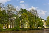 stock photo of sankt-peterburg  - Taurian garden and palace in Sankt - JPG