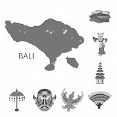 Vector Illustration Of Asian And Geography Sign. Collection Of Asian And Tourism Stock Vector Illust poster