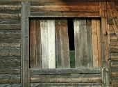 Old Wooden Building poster