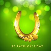 St. Patrick's Day background. EPS 10.